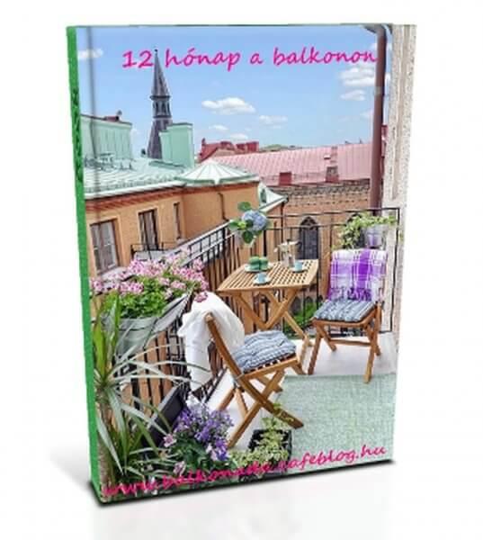 Jó kedvbonbonok: 12 hónap a balkonon - ingyen letölthető balkonkertészkedős könyv